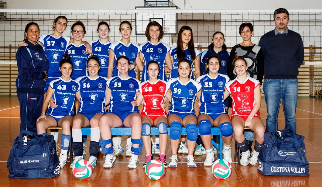 under 16 femminile - Cortona Volley