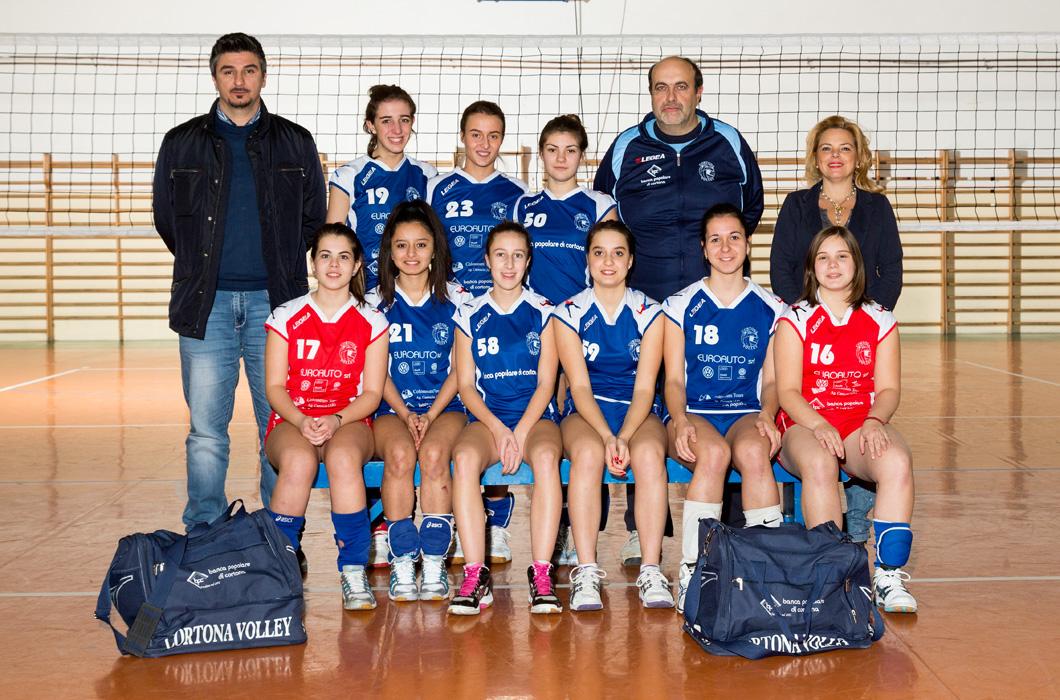 Under 18 Femminile Azzurra - Cortona Volley