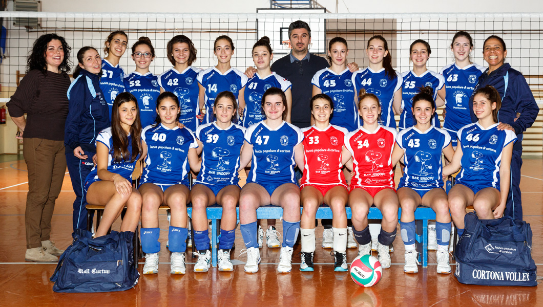 Under 18 Femminile Bianca - Cortona Volley